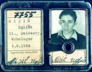 Factory identification card of a forced laborer