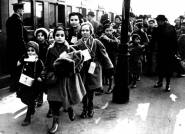 Arrival of Austrian children to London